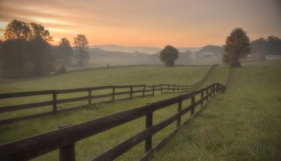 A scenic farm on Garth Road in Albemarle County. Virginia Tourism Corporation, www.Virginia.org