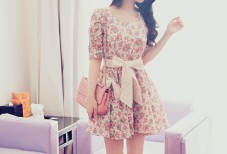10wed5-l-610x610-dress-tumblr-cute-tie-flower+dress-floral-floral+dress-sweet-vintage-lace-bows-pink-cute+outfits-colors-drees-flowers-retro-girly-girl-bow-bag-floraldress-pre