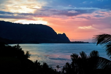 A-Sunset-at-Hanalei-Bay