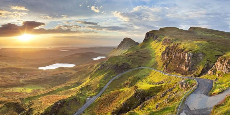 Sunrise at Quiraing, Isle of Skye, Scotland
