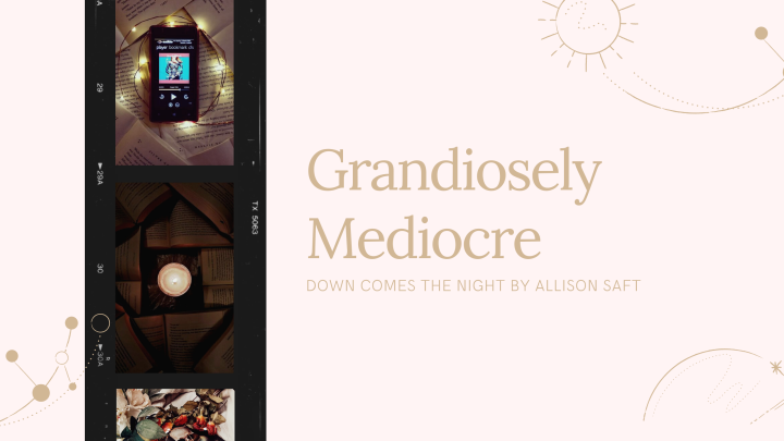 Grandiosely Mediocre | Down Comes The Night by Allison Saft